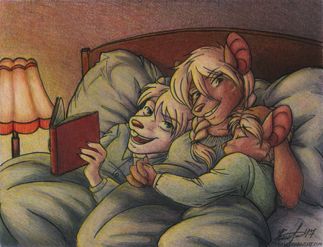 Bedtime Story by Amaryllex