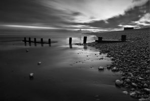 Winchelsea stones at dusk by SevenHeptagons