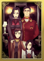 A Family Portrait by johngreeko