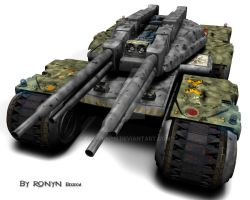 Mammoth Tank by The-Ronyn