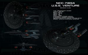 Bradbury class ortho - USS Venture by unusualsuspex