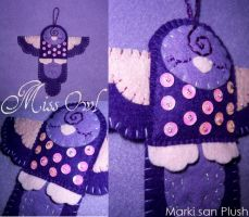 Miss Owl by Marki-san-Design