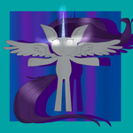 If Rarity was an alicorn (remake) by GGalaxygirl