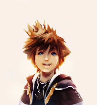 Gold Crowned Sora by zephyr-flutist