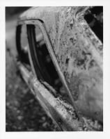 Burnt Out Car 2 by TonallyTormented
