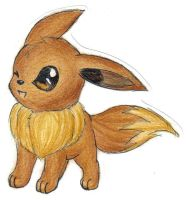 Eevee by Filly-Milly