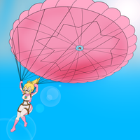 Parachute peach by Cornerbox