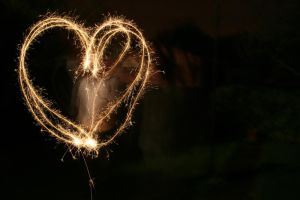 sparklers by evelynzee
