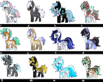 PONY AUCTION (OPEN) #21 by SilverFeather-Adopts