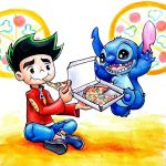 jake and stitch by moyashi252525