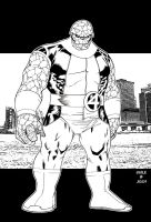 Thing - Josh Templetion inks by SpiderGuile