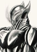 Metal Shading Practice by noideasfornicknames