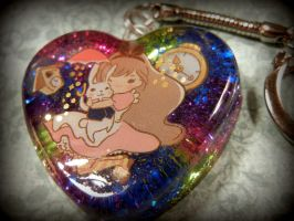 Alice Keychain by ValerieGallery