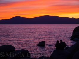 Sand Harbor sunset140411-77 by MartinGollery