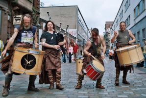 Clanadonia on Glasgow street 2 by gacek