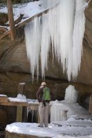 Old Man's Cave - Icicles by cionbird