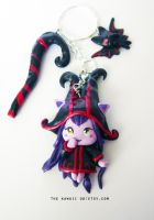Wicked lulu key chain by Thekawaiiod