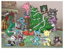 Beary Christmas 2005 by Sanaril