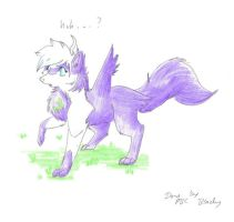 furry contest_ violet by pitch-black-crow