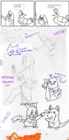 ZOMG a sketch dump by MineralRabbit
