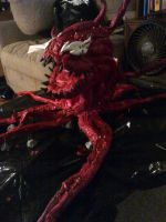 carnage prop/puppet build by mongrelman