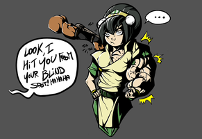 Toph Blindspot by Gettar82 by astaroth90
