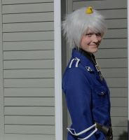 Hetalia Cosplay: Prussia, The Awesome by ClockworkStarling