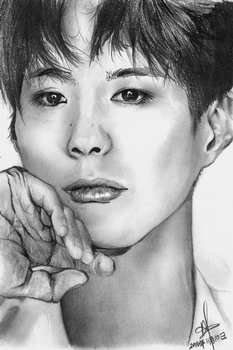 Park Bo Gum by nolongerfunctioning