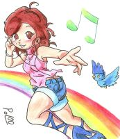 Over the rainbow (art-jam The Sound of Music) by Pol00