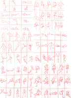 30 second gestures - Day three-six by CloudKiller7