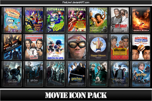 Movie Icon Pack 5 by FirstLine1