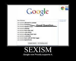 Sexism -demotivation- by Dragunov-EX