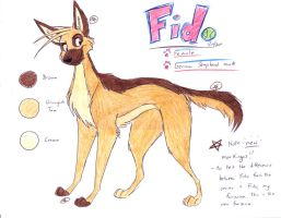 NEW Fido Ref by Stray-Sketches