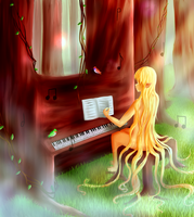 Forest Music by TaitRochelle