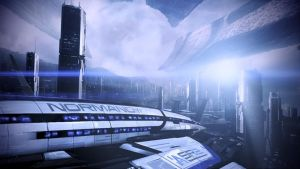 Mass Effect 3 - Normandy by loraine95
