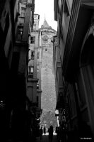 galata tower by ilkerbesken