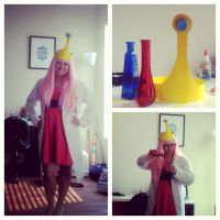 Closet Princess Bubblegum Halloween costume by ashweez