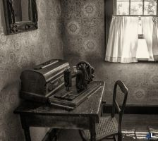 Grandma's sewing corner by imonline