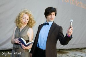 Doctor Who and River Song 5 by Kura-Kitsune