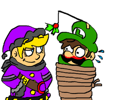 Mrq: Forced Under The Mistletoe by Pizza-and-Fandoms