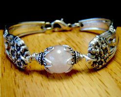Sterling Spoon Bracelet by FireChickTick