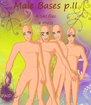 [[NOT PAID ANYMORE]] Winx Club Male Bases part II by kacper11000