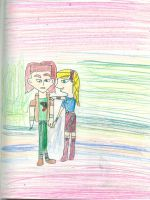 Astrid won't leave Hiccup by Kelseyalicia