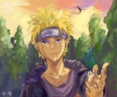 NARUTO-you are my friend by Gin-Uzumaki