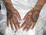 The bride's hands by April-Mo