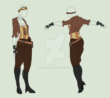 Outfit Adopt - Steampunk Is Best Punk - SOLD by ShadowInkAdopts