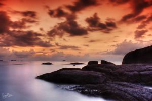 Sunset In Belitung by ditya