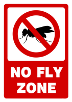 No Fly Zone (Signage) by icqgirl