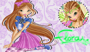 I Am A Couture Fairy Flora Wallpaper by Wizplace