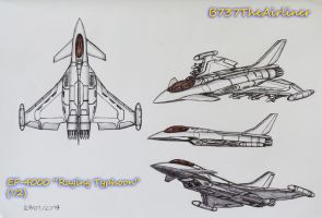 EF-4000 Raging Typhoon (Redesign) by B737TheAirliner